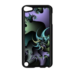 Fractal Image With Sharp Wheels Apple Ipod Touch 5 Case (black)