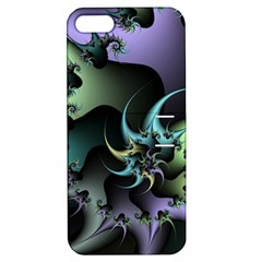 Fractal Image With Sharp Wheels Apple iPhone 5 Hardshell Case with Stand