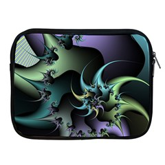 Fractal Image With Sharp Wheels Apple iPad 2/3/4 Zipper Cases