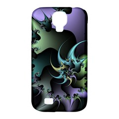 Fractal Image With Sharp Wheels Samsung Galaxy S4 Classic Hardshell Case (PC+Silicone)