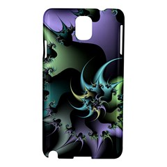 Fractal Image With Sharp Wheels Samsung Galaxy Note 3 N9005 Hardshell Case