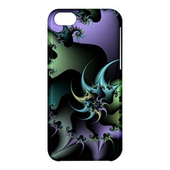 Fractal Image With Sharp Wheels Apple Iphone 5c Hardshell Case