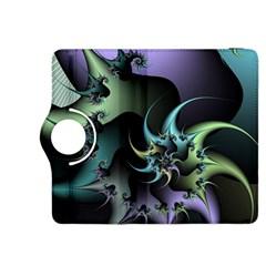 Fractal Image With Sharp Wheels Kindle Fire HDX 8.9  Flip 360 Case