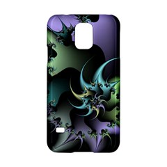 Fractal Image With Sharp Wheels Samsung Galaxy S5 Hardshell Case