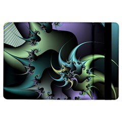 Fractal Image With Sharp Wheels iPad Air Flip
