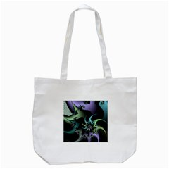 Fractal Image With Sharp Wheels Tote Bag (White)