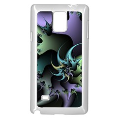 Fractal Image With Sharp Wheels Samsung Galaxy Note 4 Case (white)
