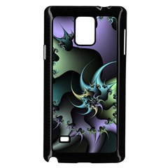 Fractal Image With Sharp Wheels Samsung Galaxy Note 4 Case (Black)