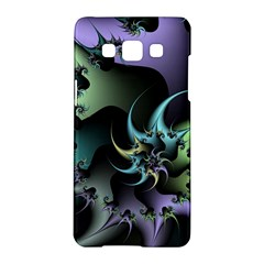 Fractal Image With Sharp Wheels Samsung Galaxy A5 Hardshell Case