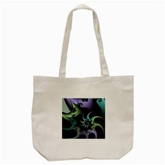 Fractal Image With Sharp Wheels Tote Bag (Cream)