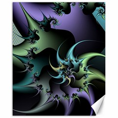 Fractal Image With Sharp Wheels Canvas 16  x 20