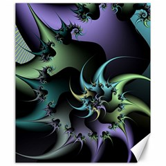 Fractal Image With Sharp Wheels Canvas 20  x 24