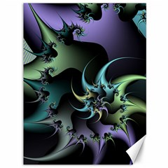 Fractal Image With Sharp Wheels Canvas 36  X 48