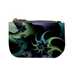 Fractal Image With Sharp Wheels Mini Coin Purses