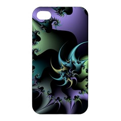 Fractal Image With Sharp Wheels Apple iPhone 4/4S Hardshell Case