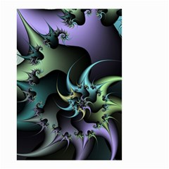 Fractal Image With Sharp Wheels Small Garden Flag (Two Sides)