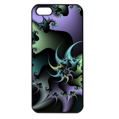 Fractal Image With Sharp Wheels Apple Iphone 5 Seamless Case (black)