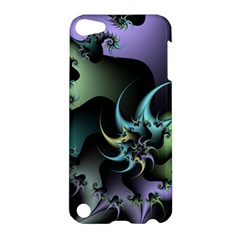 Fractal Image With Sharp Wheels Apple Ipod Touch 5 Hardshell Case
