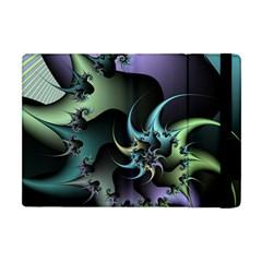 Fractal Image With Sharp Wheels Apple Ipad Mini Flip Case