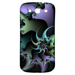 Fractal Image With Sharp Wheels Samsung Galaxy S3 S III Classic Hardshell Back Case