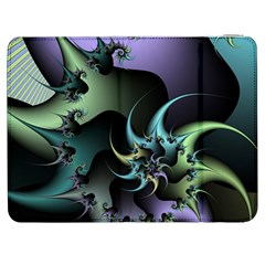 Fractal Image With Sharp Wheels Samsung Galaxy Tab 7  P1000 Flip Case