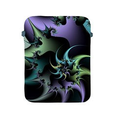 Fractal Image With Sharp Wheels Apple Ipad 2/3/4 Protective Soft Cases