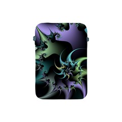 Fractal Image With Sharp Wheels Apple iPad Mini Protective Soft Cases
