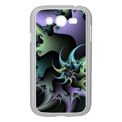 Fractal Image With Sharp Wheels Samsung Galaxy Grand DUOS I9082 Case (White)