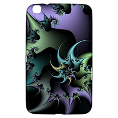 Fractal Image With Sharp Wheels Samsung Galaxy Tab 3 (8 ) T3100 Hardshell Case