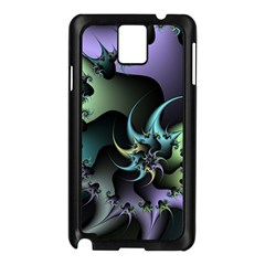 Fractal Image With Sharp Wheels Samsung Galaxy Note 3 N9005 Case (Black)