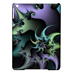 Fractal Image With Sharp Wheels iPad Air Hardshell Cases