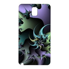 Fractal Image With Sharp Wheels Samsung Galaxy Note 3 N9005 Hardshell Back Case