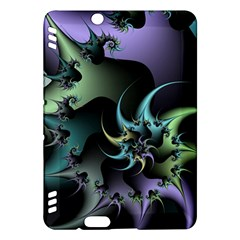 Fractal Image With Sharp Wheels Kindle Fire HDX Hardshell Case