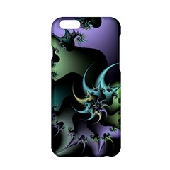 Fractal Image With Sharp Wheels Apple iPhone 6/6S Hardshell Case