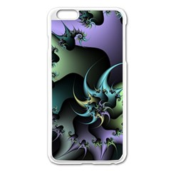 Fractal Image With Sharp Wheels Apple Iphone 6 Plus/6s Plus Enamel White Case