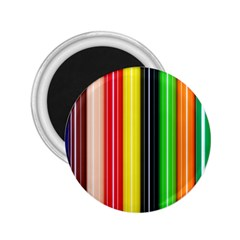 Stripes Colorful Striped Background Wallpaper Pattern 2 25  Magnets