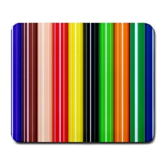 Stripes Colorful Striped Background Wallpaper Pattern Large Mousepads