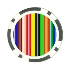 Stripes Colorful Striped Background Wallpaper Pattern Poker Chip Card Guard