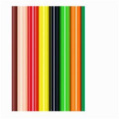Stripes Colorful Striped Background Wallpaper Pattern Large Garden Flag (two Sides)