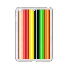 Stripes Colorful Striped Background Wallpaper Pattern iPad Mini 2 Enamel Coated Cases