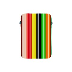 Stripes Colorful Striped Background Wallpaper Pattern Apple iPad Mini Protective Soft Cases