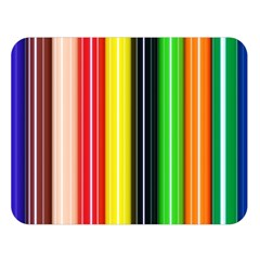Stripes Colorful Striped Background Wallpaper Pattern Double Sided Flano Blanket (Large)