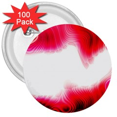 Abstract Pink Page Border 3  Buttons (100 Pack)