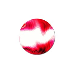 Abstract Pink Page Border Golf Ball Marker (10 pack)