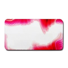 Abstract Pink Page Border Medium Bar Mats