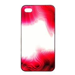 Abstract Pink Page Border Apple Iphone 4/4s Seamless Case (black)
