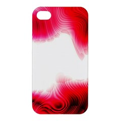 Abstract Pink Page Border Apple iPhone 4/4S Premium Hardshell Case