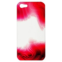 Abstract Pink Page Border Apple iPhone 5 Hardshell Case