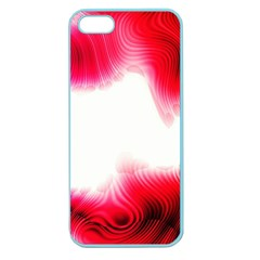 Abstract Pink Page Border Apple Seamless iPhone 5 Case (Color)