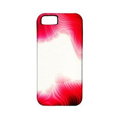 Abstract Pink Page Border Apple Iphone 5 Classic Hardshell Case (pc+silicone)